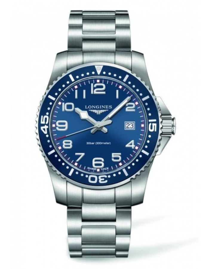 Longines L3.689.4.03.6 Blue By Malabar Watches