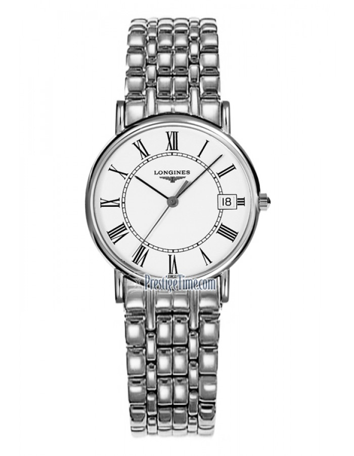 Longines L4.220.4.11.6 White By Malabar Watches
