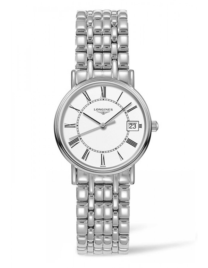 Longines L4.320.4.11.6 White By Malabar Watches