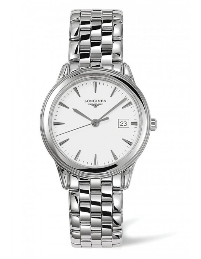 Longines L4.716.4.12.6 White By Malabar Watches
