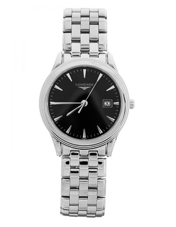 Longines L4.716.4.52.6 Black By Malabar Watches