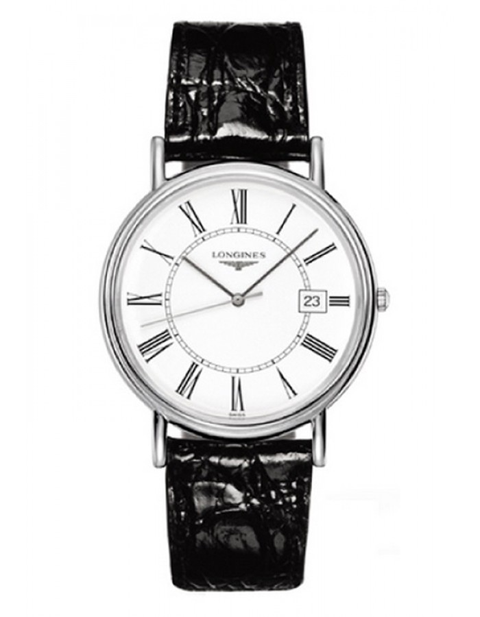 Longines L4.790.4.11.2 White By Malabar Watches