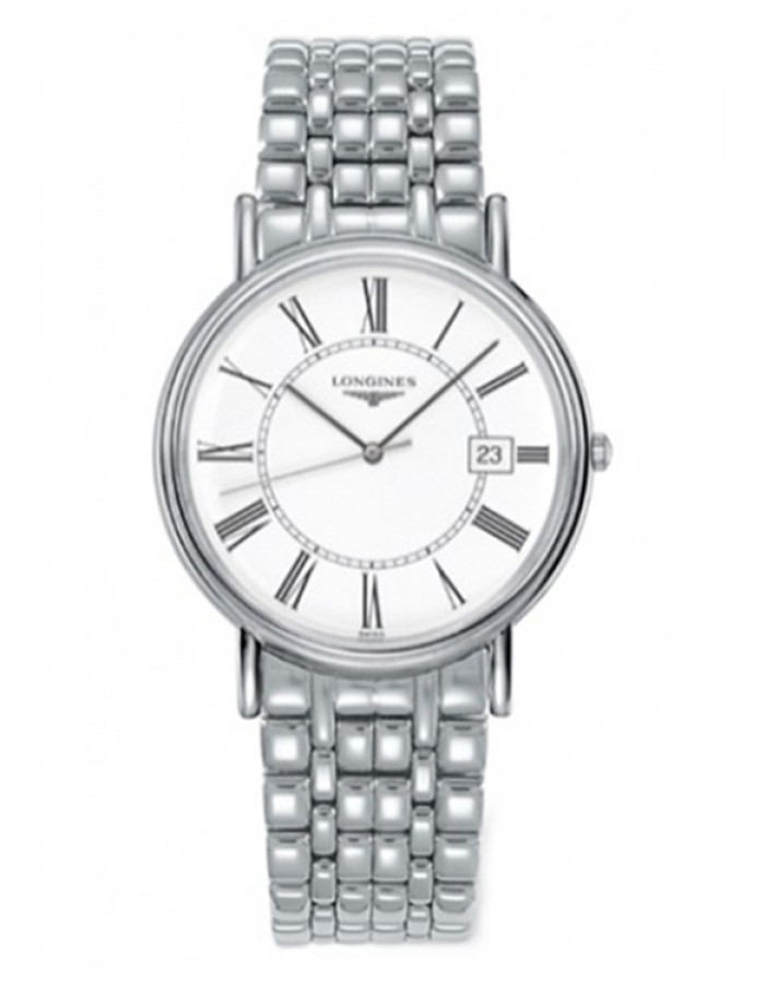 Longines L4.790.4.11.6 White By Malabar Watches