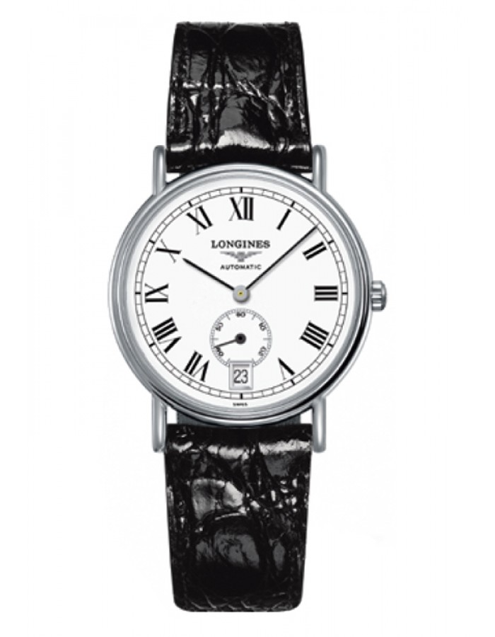 Longines L4.804.4.11.2 White By Malabar Watches
