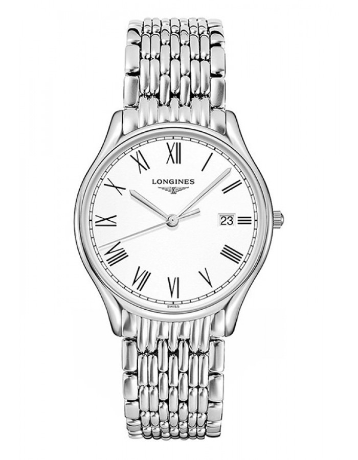Longines L4.859.4.11.6 White By Malabar Watches