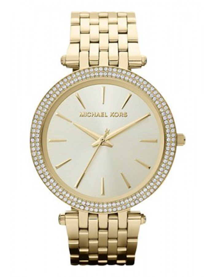 Michael Kors Champagne Darci God Plated By Malabar Watches