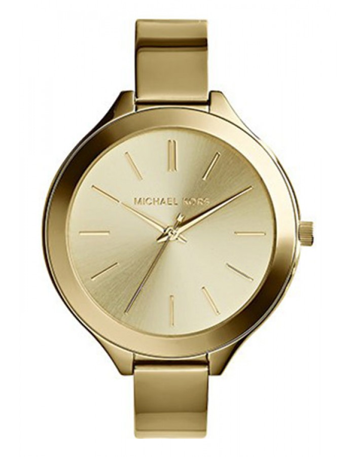 Michael Kors Runway Champagne Gold Plated By Malabar Watches