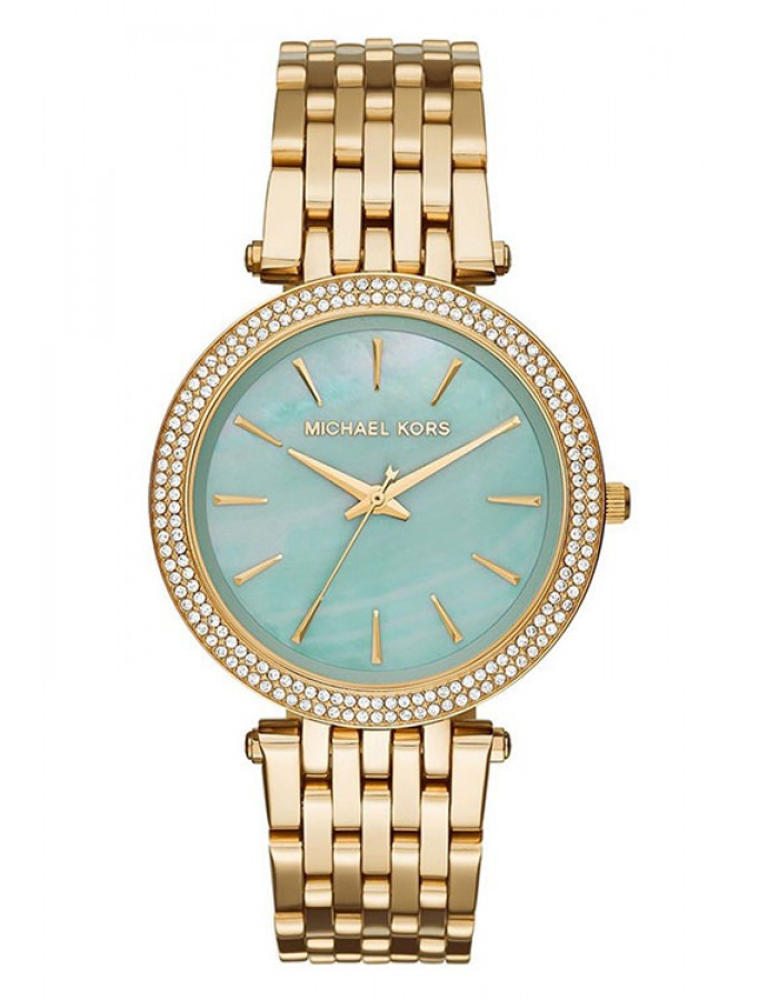 Michael Kors Darci Mop Gold Plated By Malabar Watches