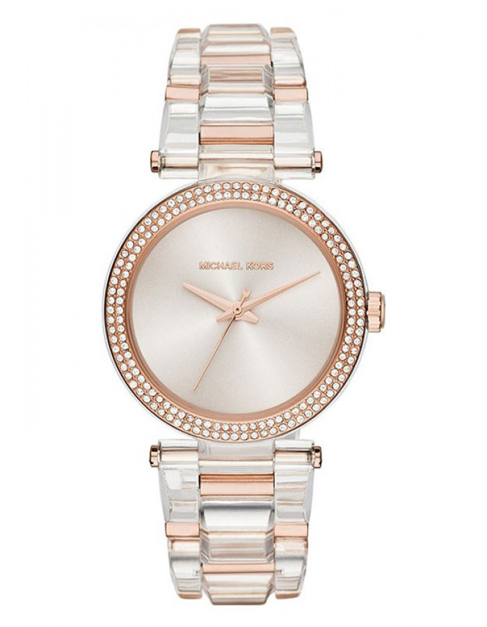 Michael Kors Delray Silver Two Tone By Malabar Watches