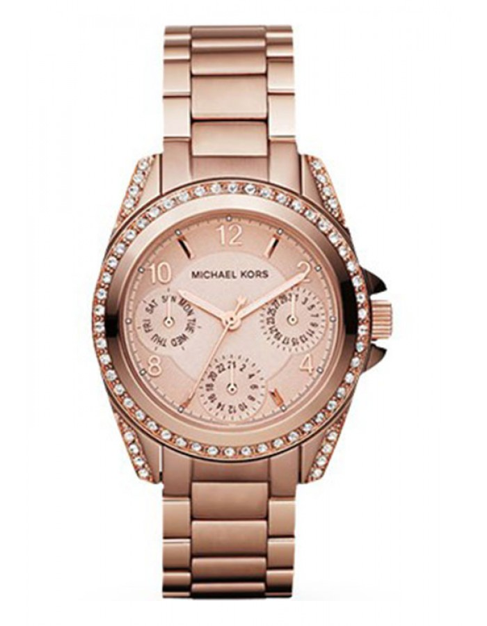 Michael Kors Mini Blair Gold Plated By Malabar Watches