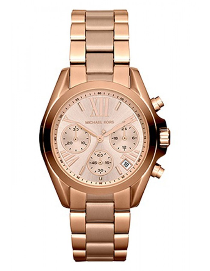 Michael Kors Bradshaw Gold Plated By Malabar Watches