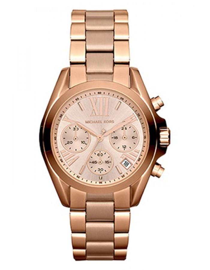 Michael Kors Bradshaw Gold Plated By Malabar Watches