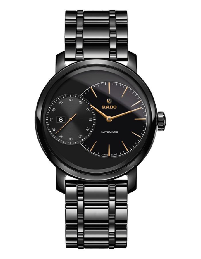 Rado Diamaster Black By Malabar Watches