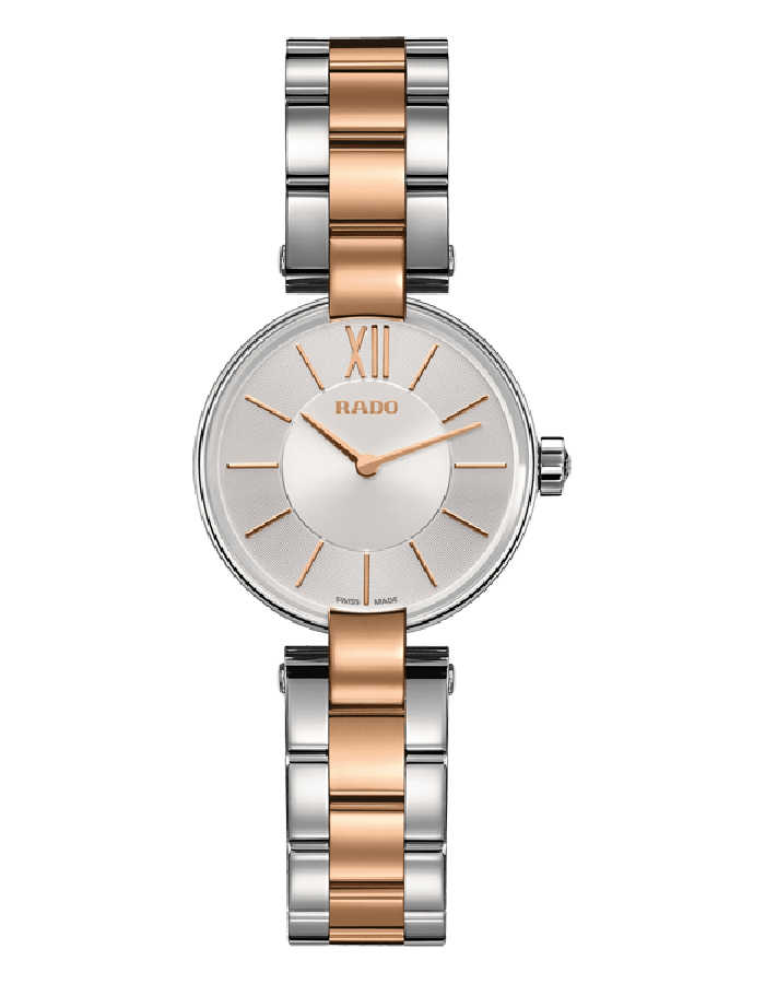 Rado Coupole Silver Steel By Malabar Watches