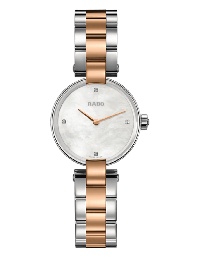 Rado Coupole Mop Steel By Malabar Watches