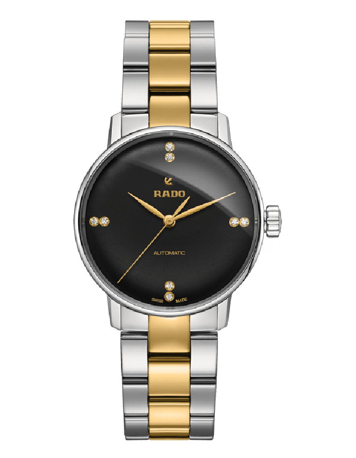 Rado Coupole Black By Malabar Watches