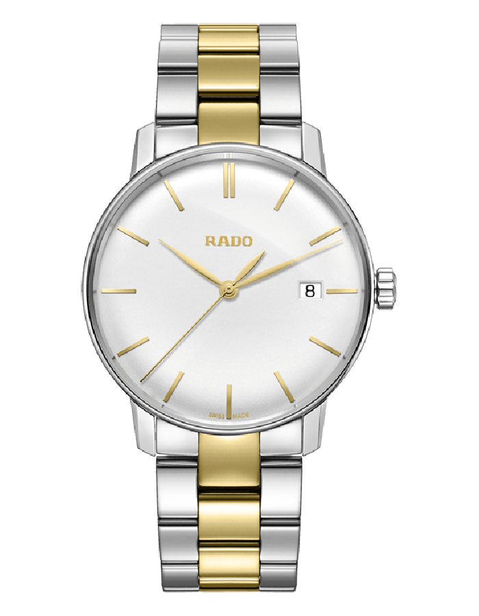 Rado Coupole Silver Two Tone By Malabar Watches