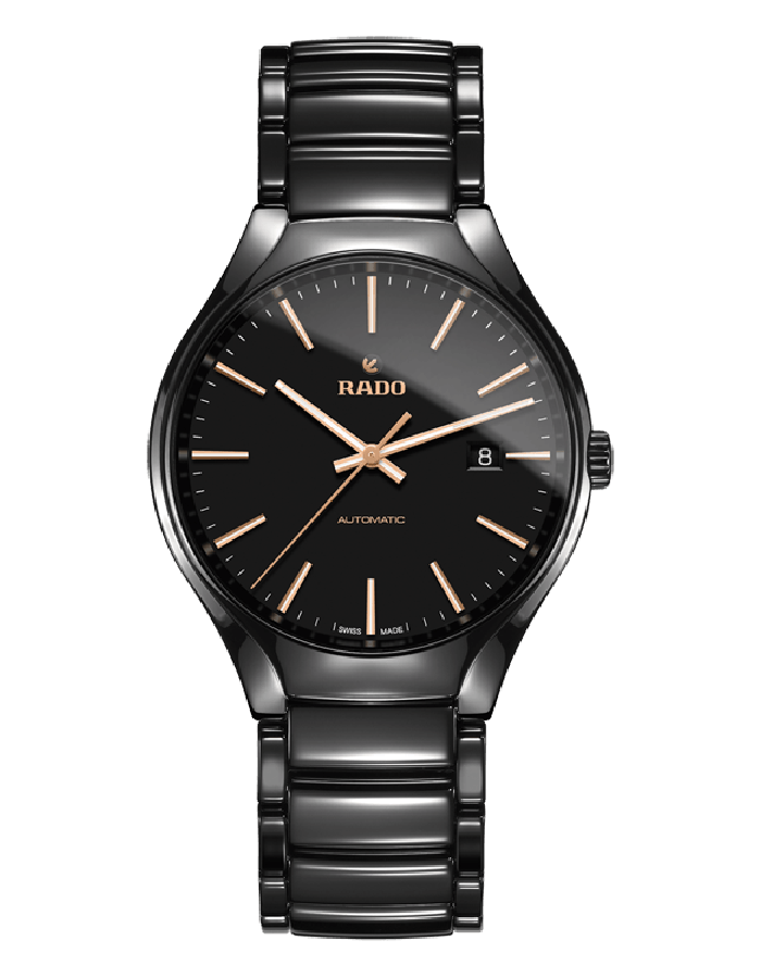 Rado True Ceramic Black By Malabar Watches