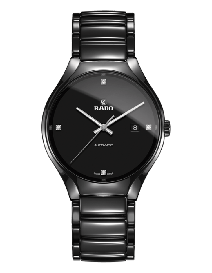Rado True Black Ceramic By Malabar Watches