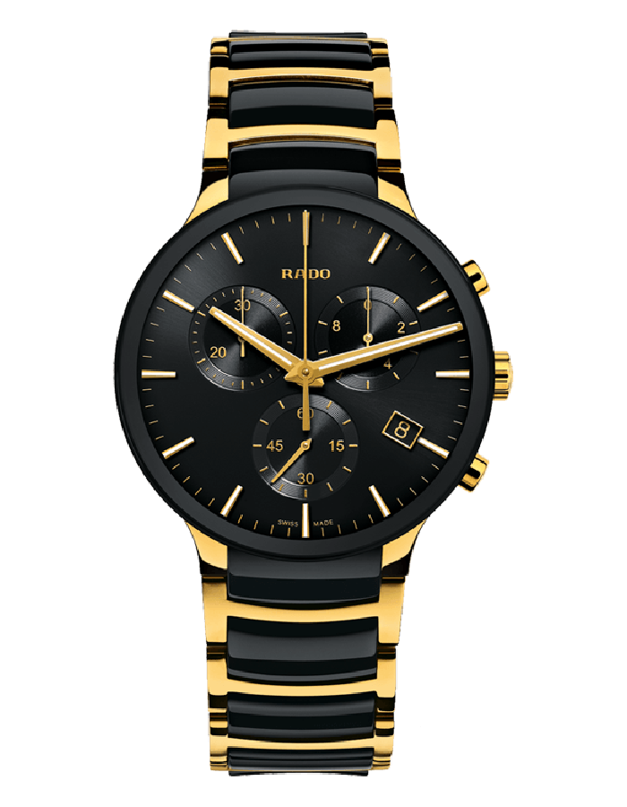 Rado Centrix Black Steel By Malabar Watches