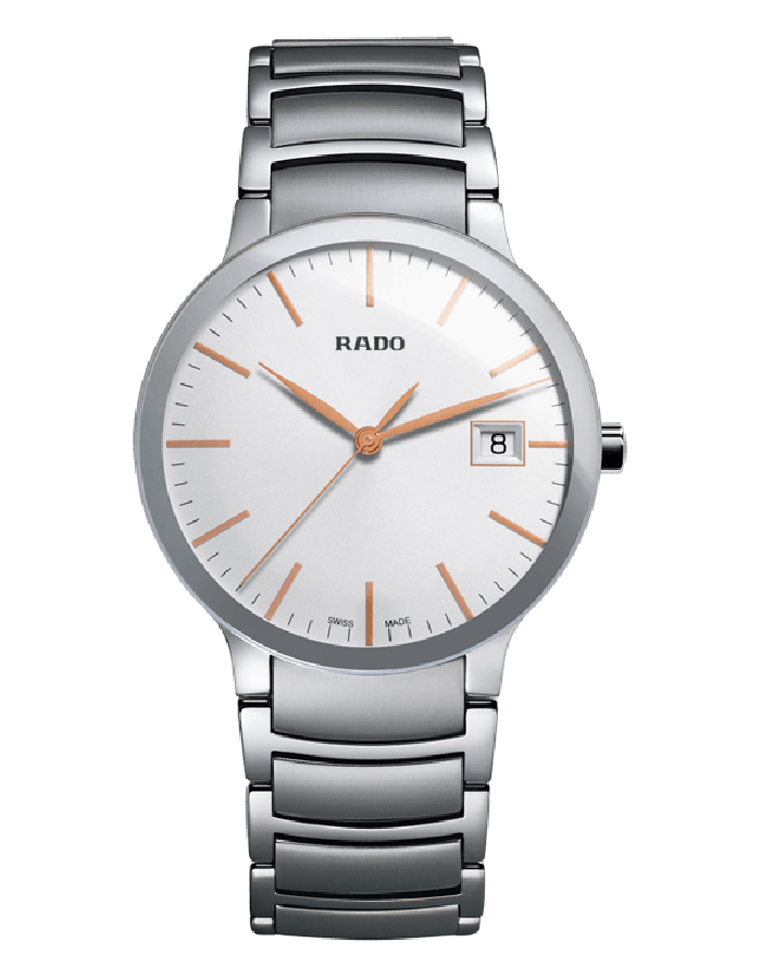 Rado Centrix White Steel By Malabar Watches