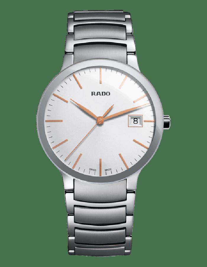 Rado Centrix White Steel By Malabar Watches