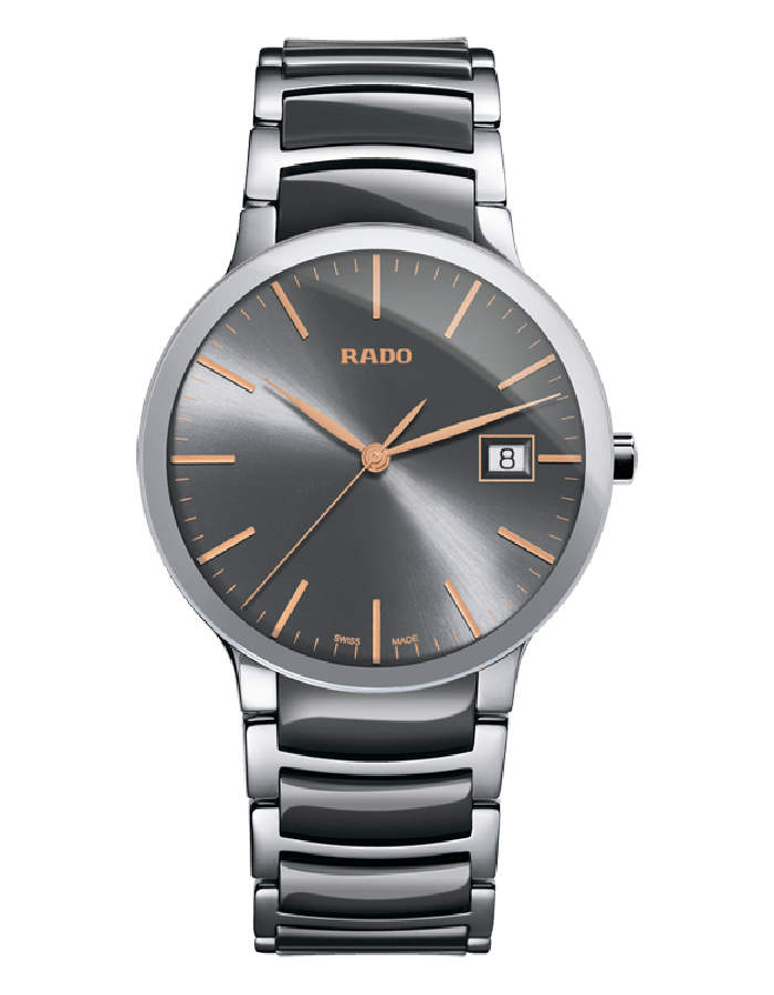 Rado Centrix Grey Steel By Malabar Watches