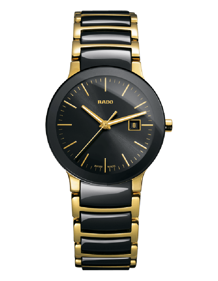 Rado Centrix Black Two Tone By Malabar Watches