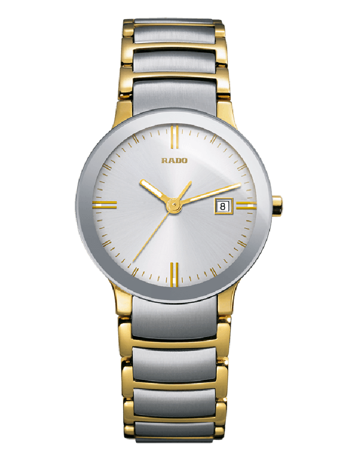 Rado Centrix Silver Steel By Malabar Watches