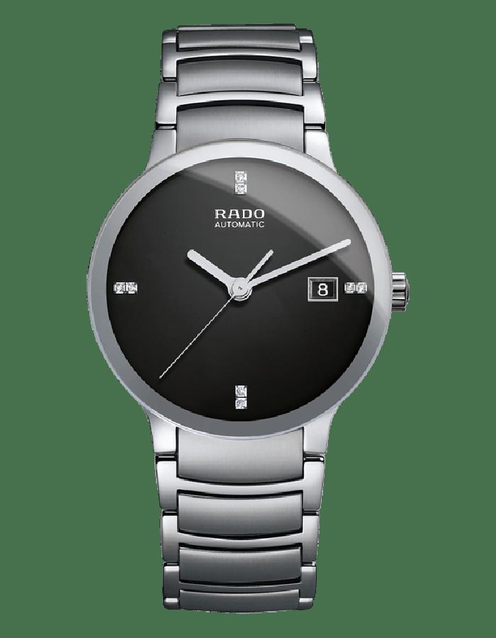 Rado Centrix Black Steel By Malabar Watches