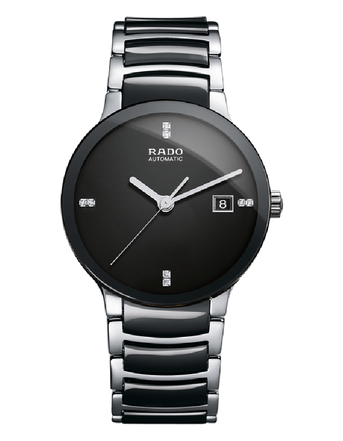 Rado Centrix Black Ceramic By Malabar Watches