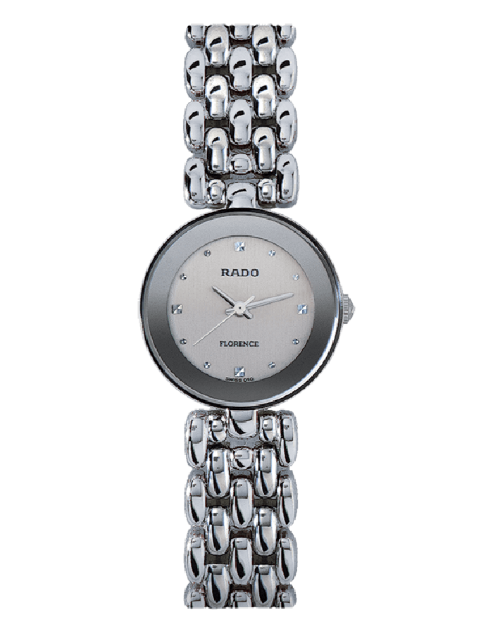 Rado Silver Florence By Malabar Watches