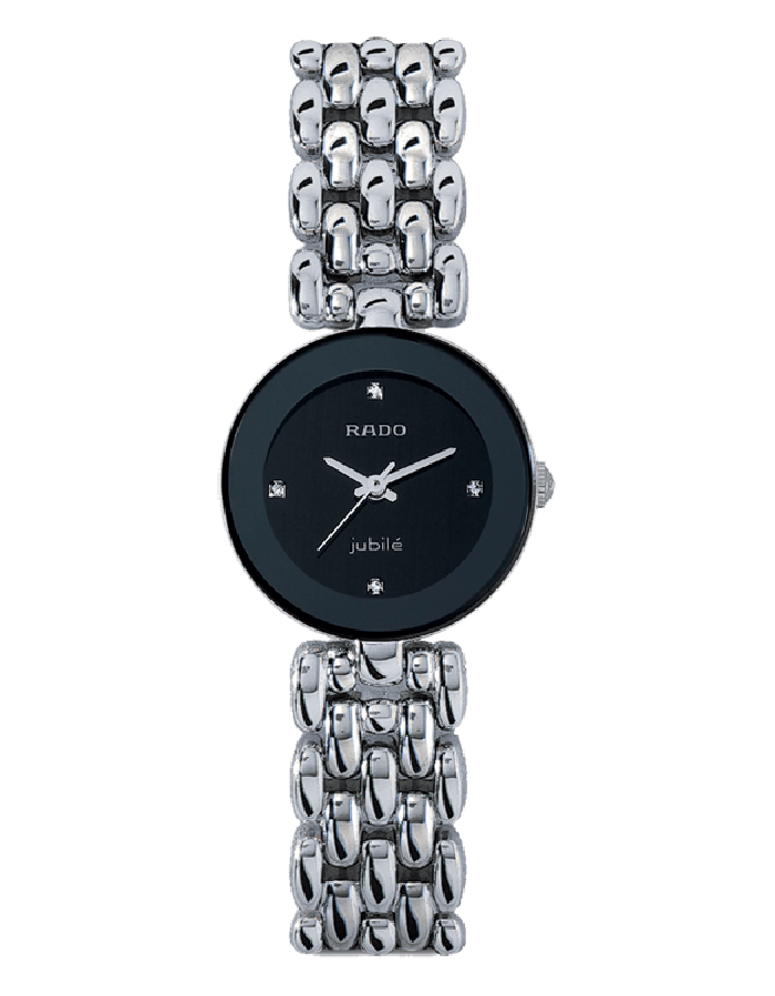 Rado Florence Black Steel By Malabar Watches