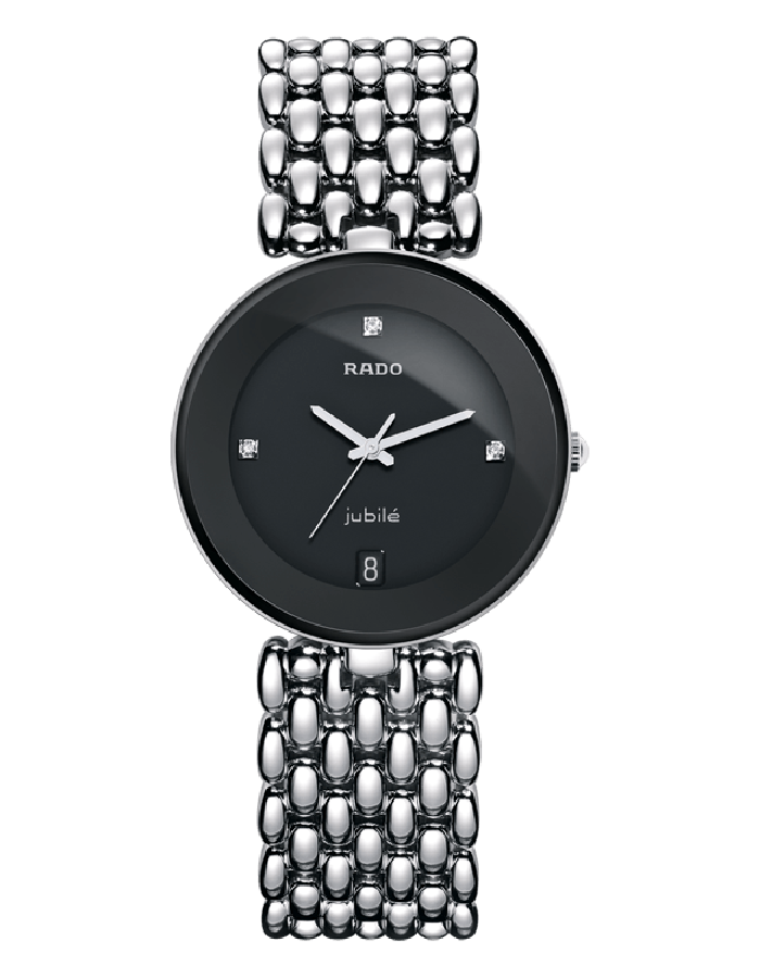 Rado Florence Black Steel By Malabar Watches