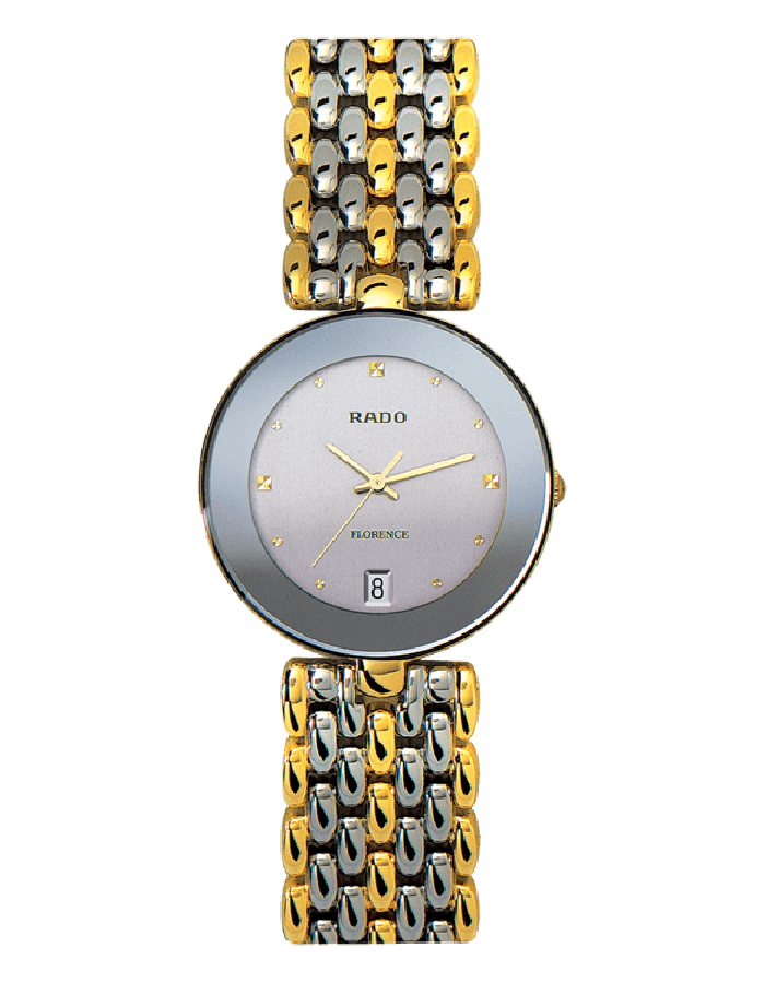 Rado Florence Silver Steel By Malabar Watches