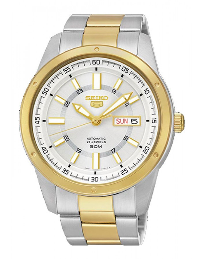 Seiko Snkn16K1 Silver By Malabar Watches
