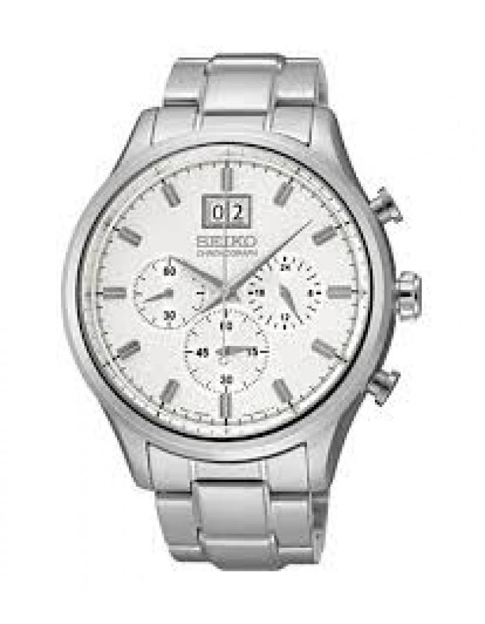 Seiko Spc079P1 White By Malabar Watches