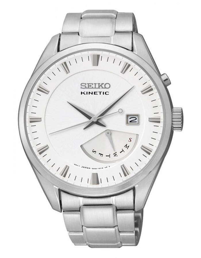 Seiko Srn043P1 White By Malabar Watches