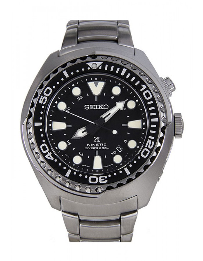 Seiko Sun019P1 Black By Malabar Watches