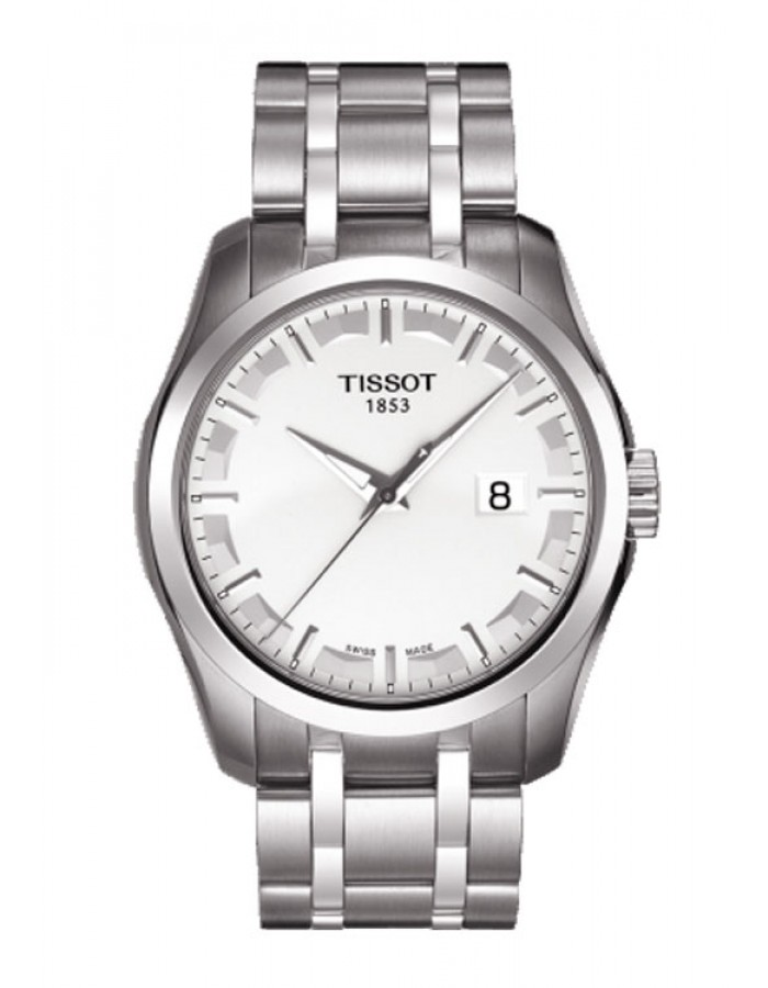 Tissot T-Trend Couturier Silver By Malabar Watches