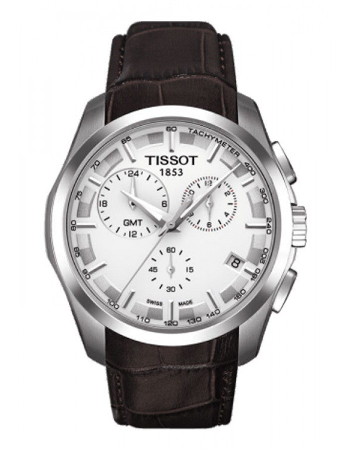 Tissot T-Trend Coutrier Leather By Malabar Watches