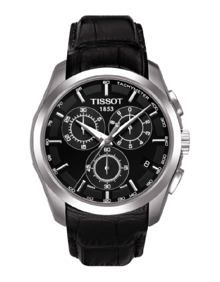 Tissot T-Trend Coutrier Black By Malabar Watches