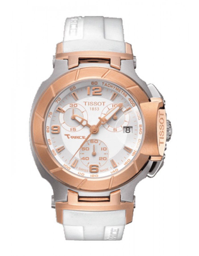 Tissot T-Sport T-Race White By Malabar Watches
