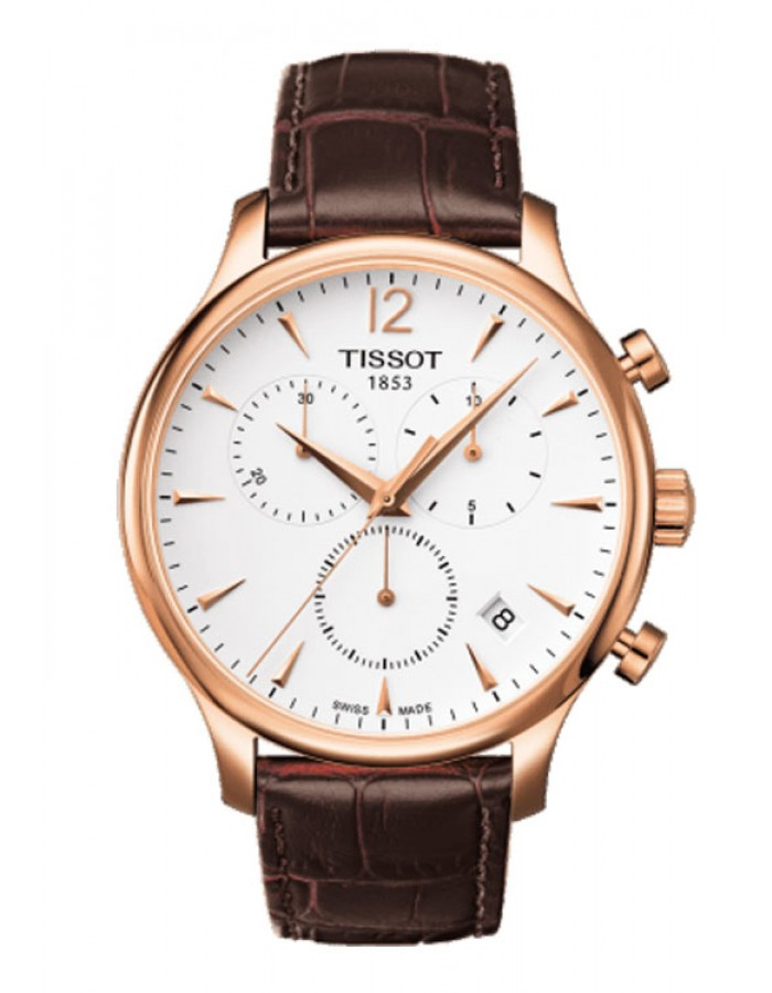 Tissot T-Classic Tradition White By Malabar Watches