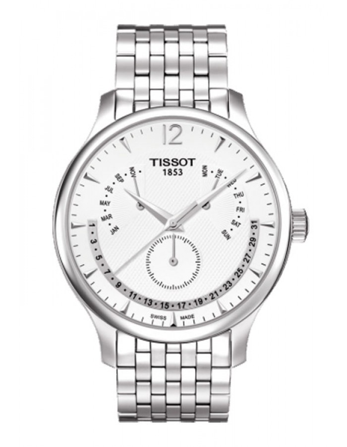 Tissot T-Classic Tradition Silver By Malabar Watches