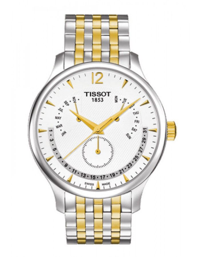Tissot T-Class Tradition Two-Tone By Malabar Watches