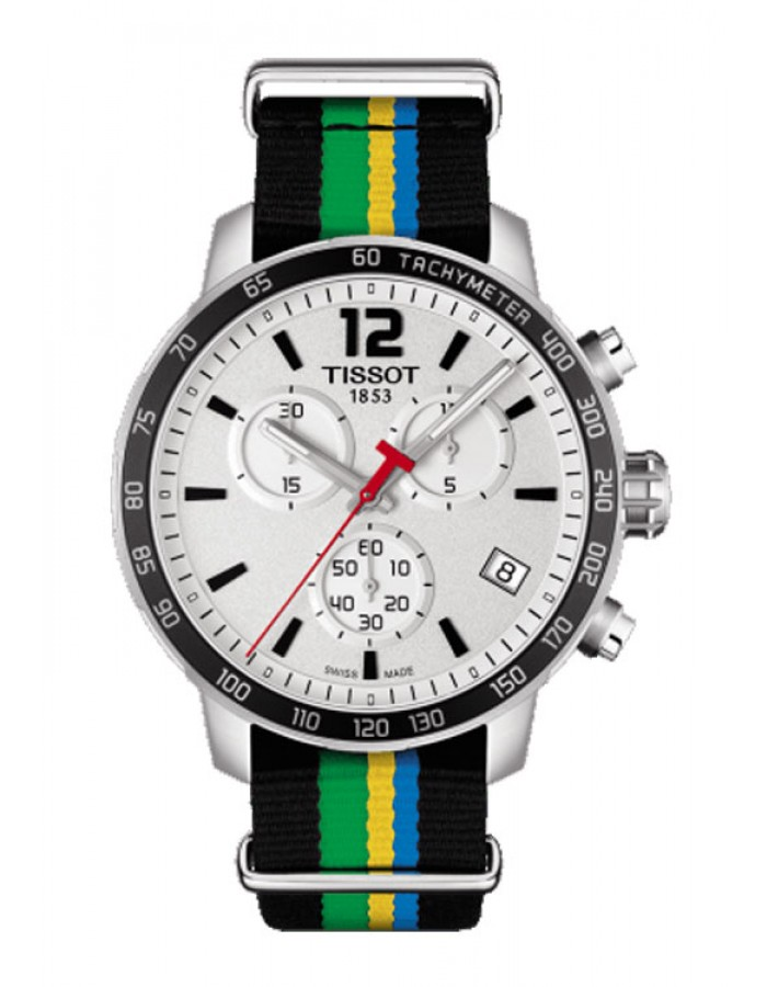 Tissot T-Sport Quickster Silver By Malabar Watches