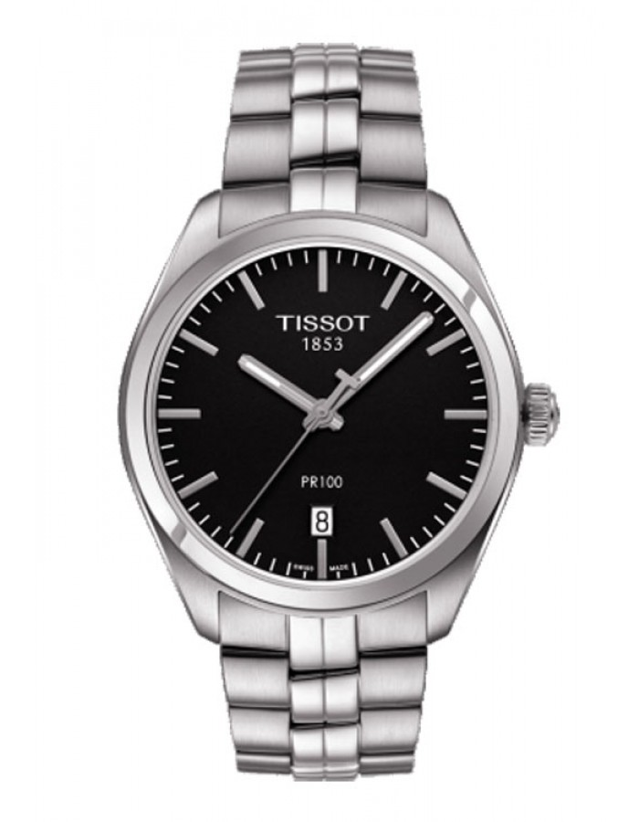 Tissot T-Classic Pr100 Black By Malabar Watches