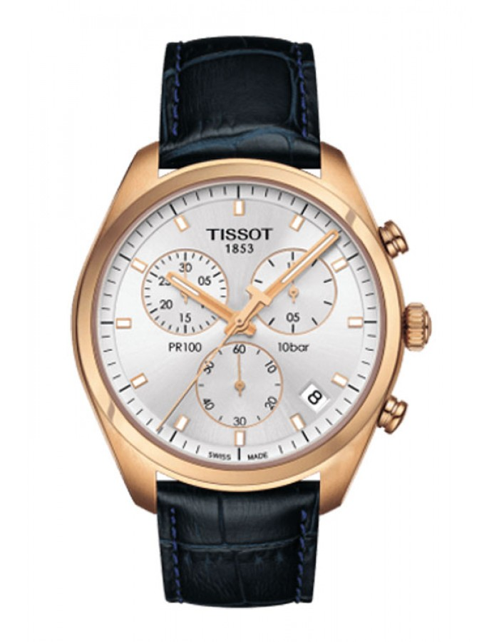 Tissot T-Classic Pr100 Silver By Malabar Watches