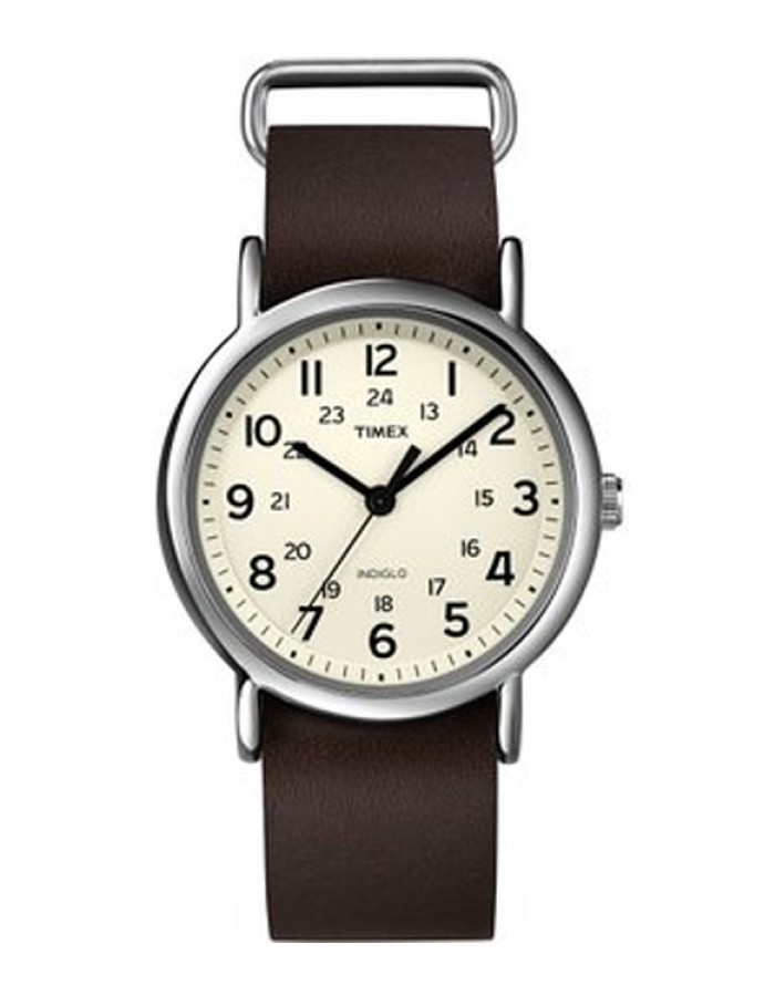 Timex Weekender Brown By Malabar Watches